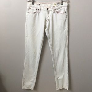 Red Engine Cayenne Skinny Jeans White